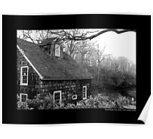 Historic Grist Mill Building - Stony Brook, New York Poster