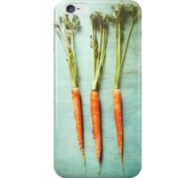 Three Carrots iPhone Case/Skin