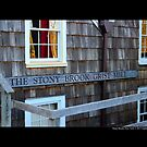 Historic Grist Mill Building Detail - Stony Brook, New York  by © Sophie Smith