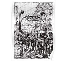 Paris 6 Poster