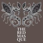 The Red Masque Psychedelic Insect Tee by Lynnette Shelley