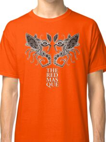 The Red Masque Psychedelic Insect Tee Classic T-Shirt