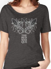 The Red Masque Psychedelic Insect Tee Women's Relaxed Fit T-Shirt