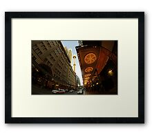From Under The State Theatre Framed Print