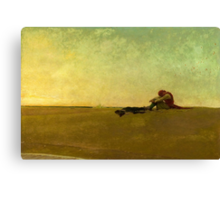 Marooned, 1909 (oil on canvas) Canvas Print