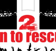 Run To Rescue - Stop Human Trafficking Sticker