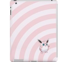 Pokemon - Wigglytuff Circles iPad Case iPad Case/Skin