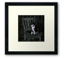 I am beauuuutiful! Framed Print