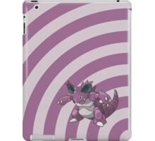 Pokemon - Nidoking Circles iPad Case iPad Case/Skin