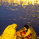 ladies at Kumbhmela by Dinni H