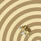 Pokemon - Sandslash Circles iPad Case by Aaron Campbell