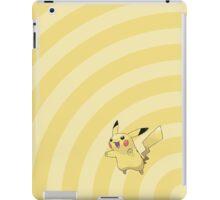 Pokemon - Pikachu Circles iPad Case iPad Case/Skin