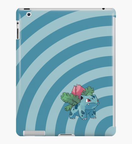 Pokemon - Ivysaur Circles iPad Case iPad Case/Skin