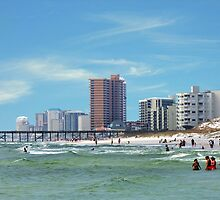 Panama City Beach Florida USA by RickDavis