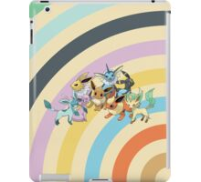 Pokemon - Eeveelution Circles iPad Case iPad Case/Skin