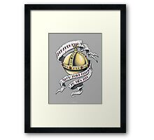 The Holy Hand Grenade Framed Print