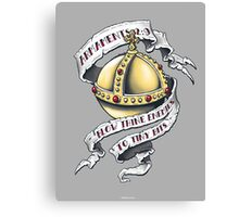 The Holy Hand Grenade Canvas Print