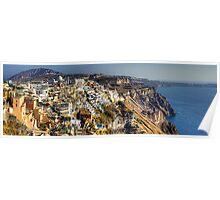 Thíra, Santorini Poster