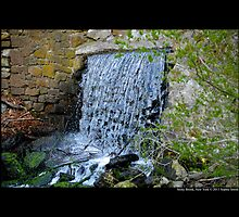 The Historic Grist Mill Dam - Stony Brook, New York by © Sophie W. Smith