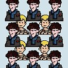 Pixelated Sherlock by KaterinaSH