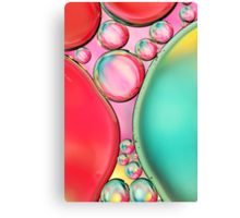 Bubble Squash Canvas Print