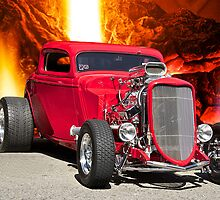 1934 Ford Bad Boy Coupe by DaveKoontz