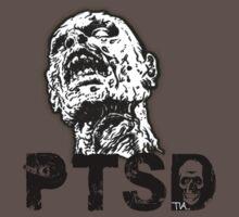 zombie has PTSD  by Tia Knight