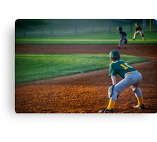 Outfield Canvas Print