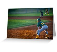 Outfield Greeting Card