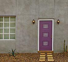 Purple Door #4831 by LoneTreeImages