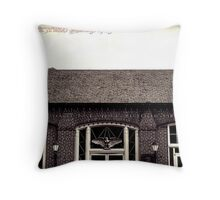 Postal Throw Pillow