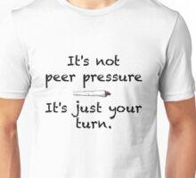 Peer Pressure Smoking Cannabis Unisex T-Shirt