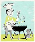 Vintage BBQ by Sanne Thijs