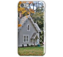 Gingerbread House by the Hudson iPhone Case/Skin