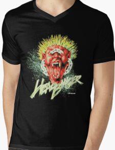HEADBANGER Mens V-Neck T-Shirt
