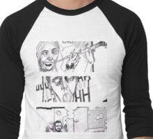 Comic Art Men's Baseball ¾ T-Shirt