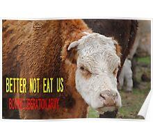 Better Not Eat Us Poster