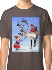 Reindeer Girl Classic T-Shirt
