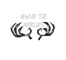 Beware the Deerclops Photographic Print