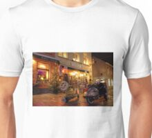 Scooters at the Bistro  Unisex T-Shirt
