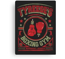 Tyreese's Boxing Gym Canvas Print