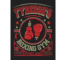 Tyreese's Boxing Gym Photographic Print