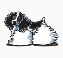 Parti Cocker Spaniel Die Cut Sticker by offleashart