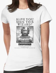 Have you seen this Wizard? Womens Fitted T-Shirt