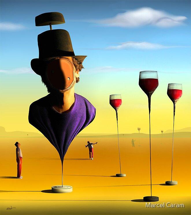 Homem de Cartola. by Marcel Caram