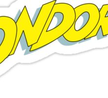 Condorman Sticker