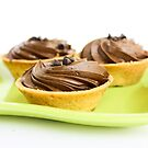 Chocolate Tarts by Anaa