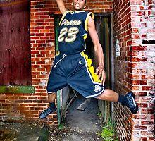 All-Area basketball player Mikel Harvey, 2012. by Brett Clark