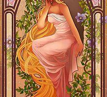 Rapunzel by NeverBird