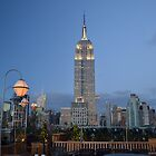 Empire State Building, NYC by Nina Brandin